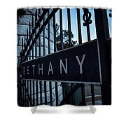 Bethany Cemetery Shower Curtain
