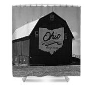 Bicentennial Barn Shower Curtain