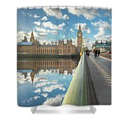 Big Ben London Shower Curtain