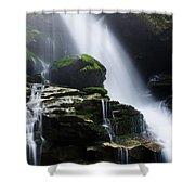 Big Bradley Falls North Carolina Shower Curtain