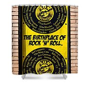 Birthplace Of Rock N Roll Shower Curtain