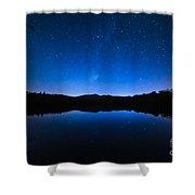 Blue Betsy Shower Curtain