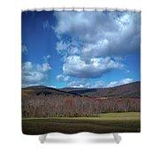 Blue Ridge Foothills Shower Curtain