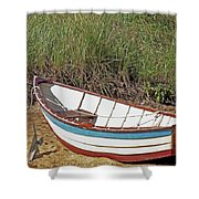 Boat And Anchor Shower Curtain