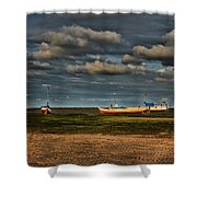 Boats Shower Curtain