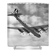 Boeing B29 Superfortress Shower Curtain