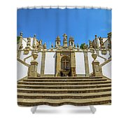 Bom Jesus Staircase Braga Shower Curtain