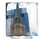 Boston Historical Meeting Room Shower Curtain