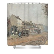 Boulevard Heloise Argenteuil Shower Curtain