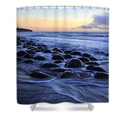 Bowling Ball Beach Shower Curtain