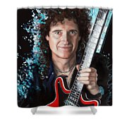 Brian May Shower Curtain