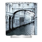Bridge Of Sighs, Venice, Italy Shower Curtain