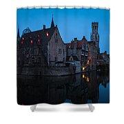 Bruges Shower Curtain
