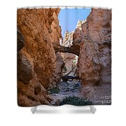 Navajo Trail Natural Bridge Shower Curtain