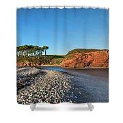 Budleigh Salterton - England Shower Curtain