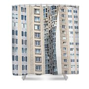 Building Construction Shower Curtain