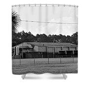 2 Bw Washington High Schhol Shower Curtain