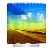 By Nature Shower Curtain