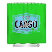 C-17 Cargo Shower Curtain