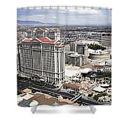 Caesars Palace Shower Curtain