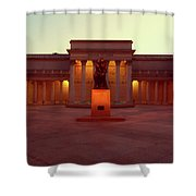 California Palace Of The Legion Of Honor Shower Curtain