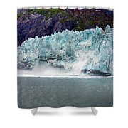 Calving Glacier Shower Curtain