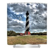 Cape Hatteras Lighthouse, Buxton, North Carolina Shower Curtain