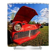 Car Grille Shower Curtain