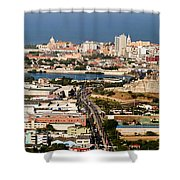 Cartegena Colombia Shower Curtain