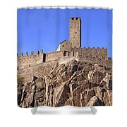 Castelgrande - Bellinzona Shower Curtain