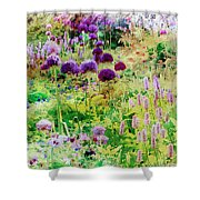 Castle Gardens Shower Curtain