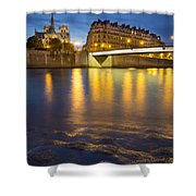 Cathedral Notre Dame - Paris Shower Curtain