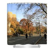Central Park New York City Shower Curtain
