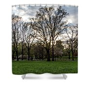 Central Park Views  Shower Curtain