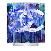 Chanel Art Print Shower Curtain