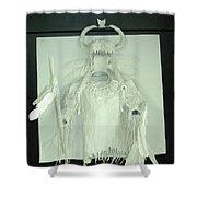 Charles Hall - Creative Arts Program - Spirits Of The Plains Shower Curtain