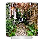 Charleston Gated Garden Shower Curtain
