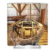 Chesapeake Bay Workboat Shower Curtain
