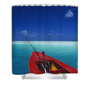 Christmas Island, Bone Fi Shower Curtain