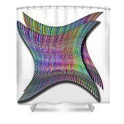 Cinetic Art Shower Curtain