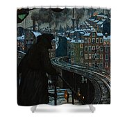 City Of Workers Shower Curtain