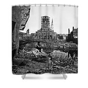 Civil War: Charleston, 1865 Shower Curtain