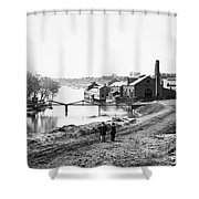 Civil War: Fall Of Richmond Shower Curtain