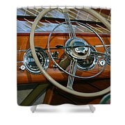Classic Runabout Shower Curtain