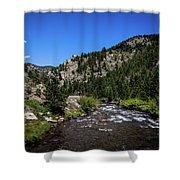 Clear Creek Canyon Shower Curtain