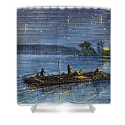 Clemens: Tom Sawyer Shower Curtain
