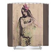Cleo De Merode Shower Curtain
