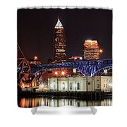 Cleveland Panorama Shower Curtain