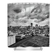 Clouds Over Havana Shower Curtain