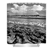 Clouds Over The Sea Shower Curtain